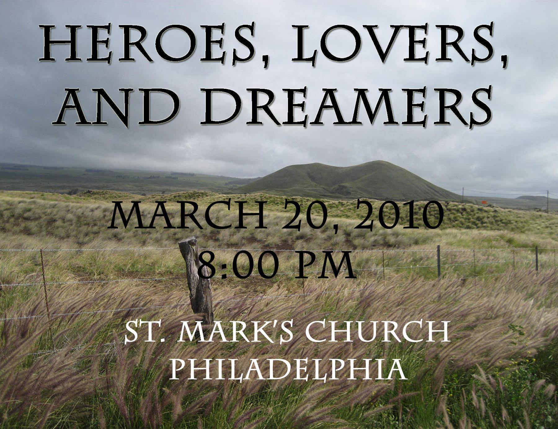 Heroes, Lovers & Dreamers