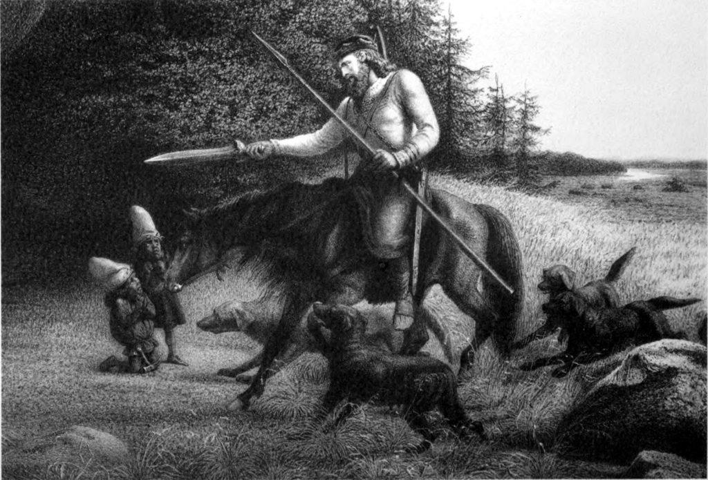 Viking, sword