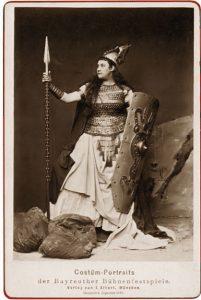 Amalia Materna as Brunnhilde, Bayreuth 1876